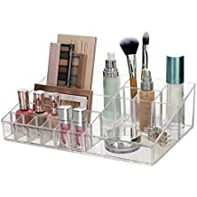 Premium Quality Clear Plastic Cosmetic and Makeup Palette Organizer | Audrey Collection