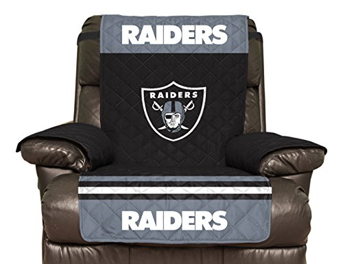 Merveilleux Amazon.com: NFL Oakland Raiders Recliner Reversible Furniture Protector  With Elastic Straps, 80 Inches By 65 Inches: Sports U0026 Outdoors