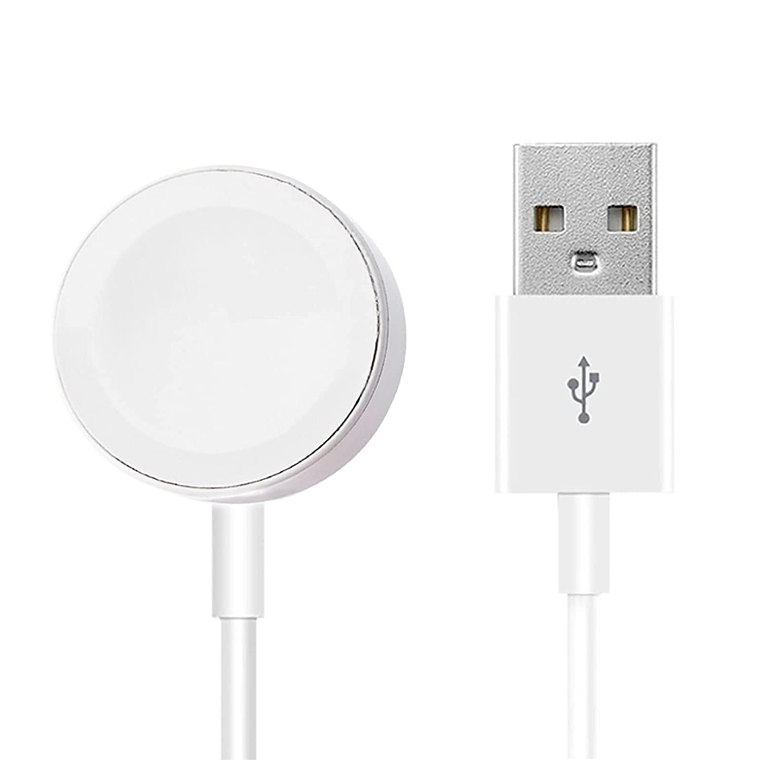 Watch Charger, Magnetic Charging Cable Cord,Portable Wireless Fast Magnetic Charging Cable Cord Compatible with Apple Watch Series 6/5/4/3/2/1/SE