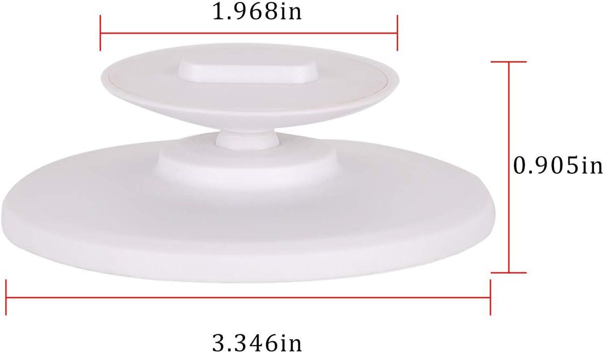 Ousyaah Echo Spot Adjustable Magnetic Plastic Stand,Anti-Slip Base,Tilt Forward or Backward to Improve Viewing Angle Black