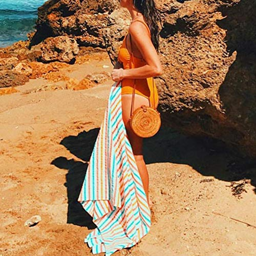 plage rond voyage nouveau paille main de tissé sac rétro tissé rotin en sac la de à boho style pour sac mode femme en rétro Sac OYzpwRxnUn