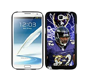 NFL Baltimore Ravens Haloti Ngata 02 Samsung Note 2 7100 Case Gift Holiday Christmas Gifts cell phone cases clear phone cases protectivefashion cell phone cases HLNKY604580360