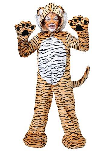 Jungle Cat Premium Child Fierce Tiger Costume - M ()