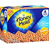 Nabisco Honey Maid Graham Crackers, Honey  4-14.4oz