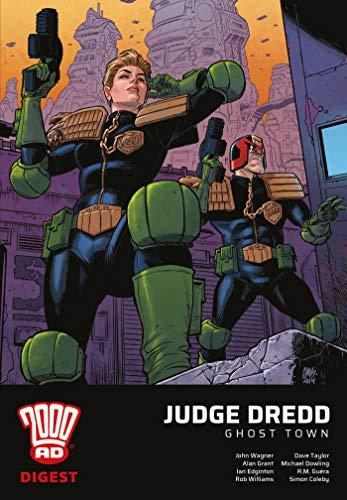 Pdf Graphic Novels 2000 AD Digest - Judge Dredd: Ghost Town