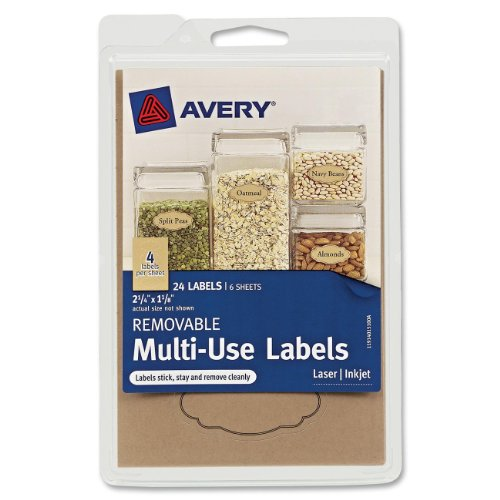 Avery Removable Multi Use Labels 40151 product image