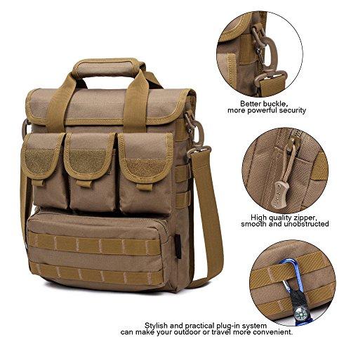 Nylon militärische taktische Umhängetasche Reisen Aktentasche Sling Pack