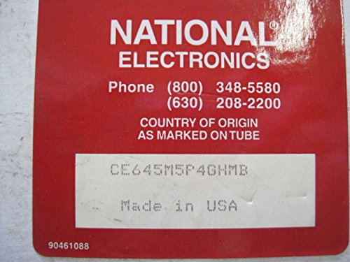 NEW NATIONAL ELECTRONICS CE645M5P4GHMB CRT TUBE