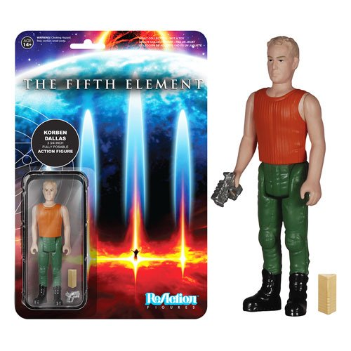 Funko ReAction: The Fifth Element - Korben Dallas Action Figure