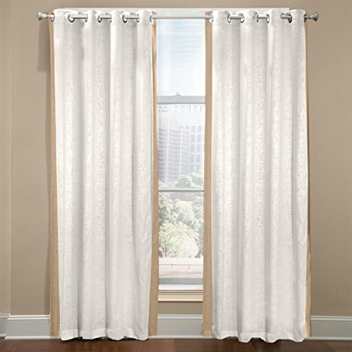 Veratex The Central Park Collection Made in the U.S.A. 100% Linen Living Room Rod Pocket Window Panel Curtain, Khaki, (Khaki Valance)