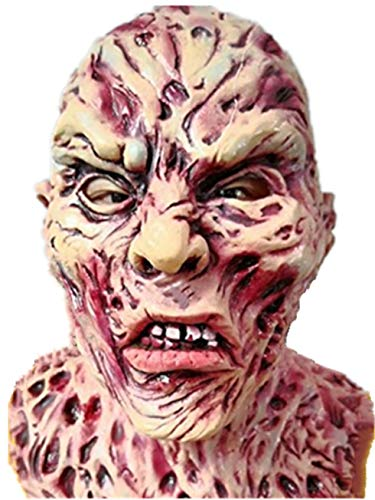 Loisleila Deluxe Halloween Latex Scary Head Mask Devil Ghosts and Monsters Costume Party