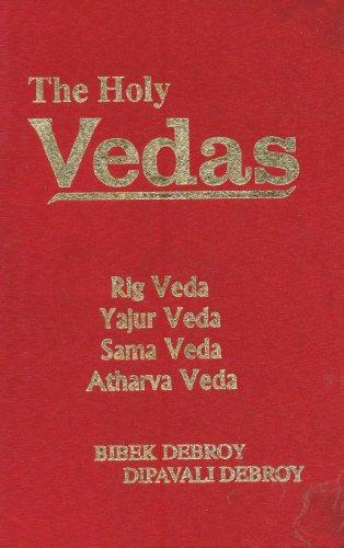 The Holy Vedas ; Rig Veda, Yajur Veda, Sama Veda, Atharva Veda