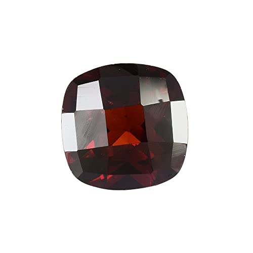 Amazon.com: 2.70 cts natural rojo Garnet 8 x 8 x 5 mm, 1 PC ...