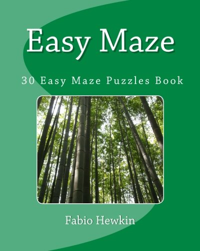 Download Easy Maze : 30 Easy to solve Fun Maze Puzzles: Puzzle Book: Puzzle Book PDF