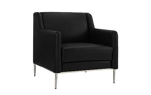Modern Living Room Leather Armchair