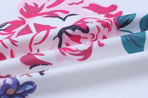 Tops Boho Casual Outwear Coat Wrap Elevesee White Cardigans Sleeve Women's Irregular Kimono Long Coverup P5H1qw