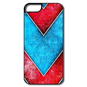 Section Art Deco Pattern Case For IPhone 5/5s