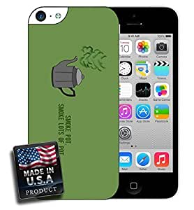 Smoke Pot Weed Marijuana iPhone 5c Hard Case