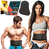 Lumbar Support Belt - Back Brace - Lumbar Back Support Brace for Men and Women - Helps Relieve Lower Back Pain with Sciatica, Herniated and Slipped Discs (Size L)