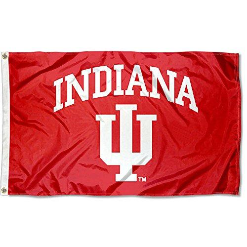 Indiana Hoosiers IU University Large College Flag