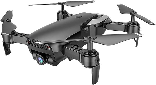 Opinión sobre DishyKooker M69G FPV RC Drone 4K con 1080P cámara Gran Angular WiFi HD Plegable Mini helicóptero Quadcopter RC Negro 4K