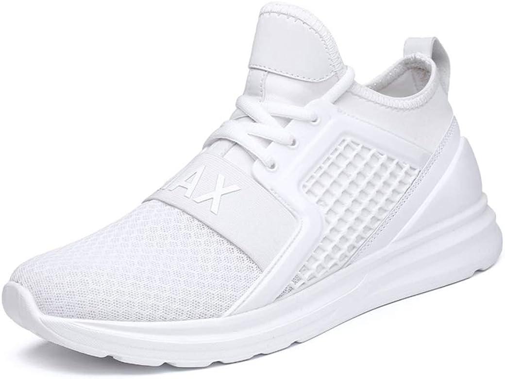 Hombres Deporte Zapatos Malla Transpirable Gimnasio Outdoor Entrenamiento Running Zapatillas: Amazon.es: Zapatos y complementos