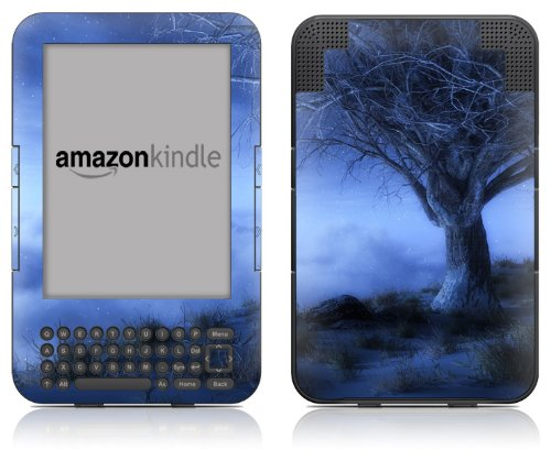 (DecalGirl Kindle Skin (Fits Kindle Keyboard) World's Edge Winter (Matte Finish))