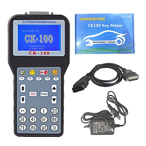 2016 Car Key Programmer CK100+ Auto Key Programmer Immobilizer V46.02 Newest Generation SBB Key Programmer No Token Limited Best Quality (CK100+ Auto Key Programmer V99.99) (Best Automotive Key Programmer)