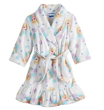cost charm new style of 2019 ever popular Amazon.com: Disney Girls' Frozen Elsa Luxe Plush Robe (5T ...