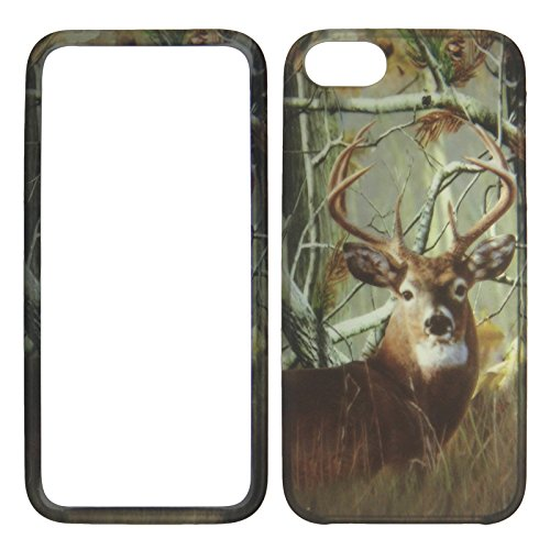 Used, 2D Camo Deer Pine Apple Iphone 5, 5s at&t. Verizon, for sale  Delivered anywhere in USA