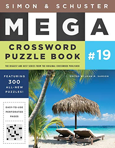Simon & Schuster Mega Crossword Puzzle Book #19 (19) (S&S Mega Crossword Puzzles)