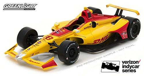 GreenLight Collectibles 10800 2018 #8 DHL Ryan Hunter-Reay / Andretti Autosport Auto Nation 1:64 Scale Diecast Indy 500