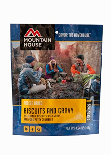 (Mountain House Biscuits and Gravy, 4.94 oz, Pouch)