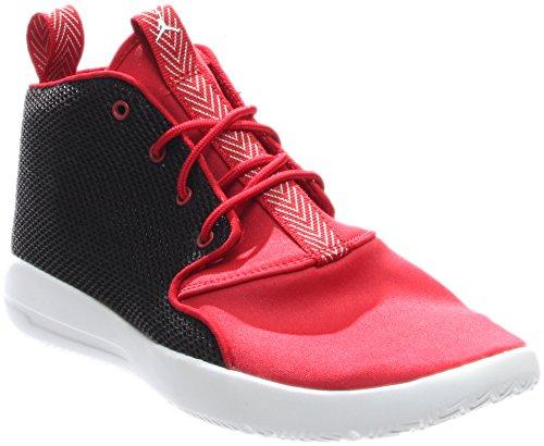 JORDAN KIDS JORDAN ECLIPSE CHUKKA BP BLACK WHITE GYM RED WHITE SIZE 2.5 - Kid Eclipse Boy Shoe