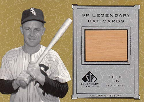 2001 SP Legendary Cuts Game Bat #B-NF Nellie Fox NM-MT+ MEM Chicago White Sox from SP Legendary Cuts