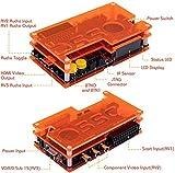 Mcbazel OSSC SCART Component VGA to HDMI Open