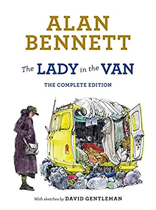 book cover of The Lady in the Van
