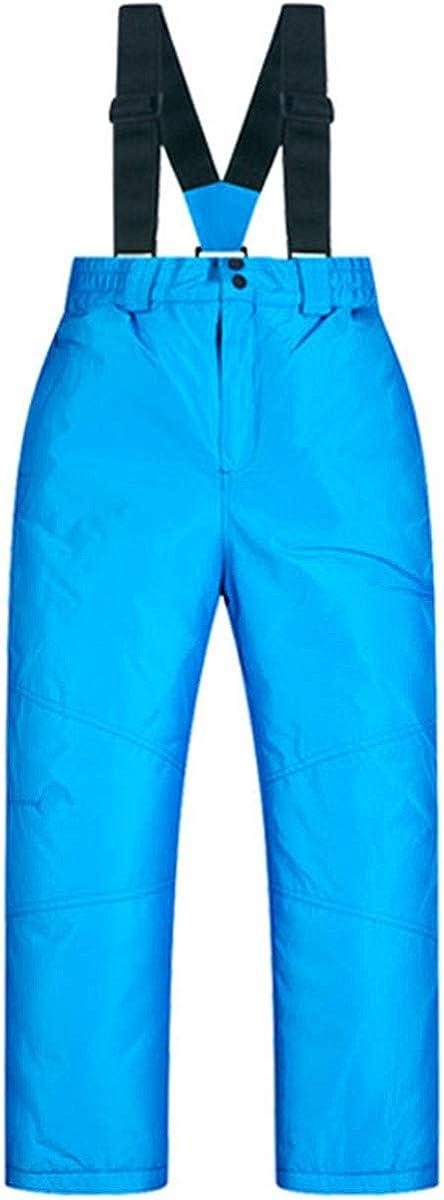 Children Kids Winter Warm Outdoor Waterproof Windproof Ski Snow Pants Bibs
