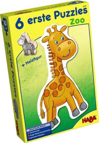 HABA 4276 6 Little Zoo Hand Puzzle ()