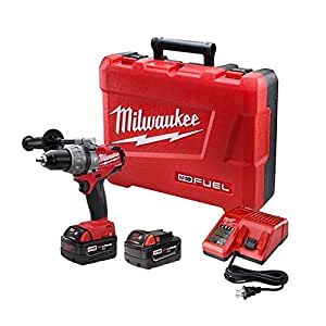Milwaukee 2604-22 M18 Fuel Hammer Dr Kit W/2 Xc Bat