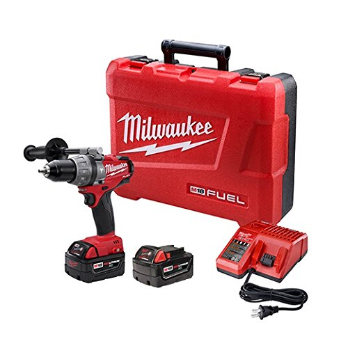 Milwaukee GIDDS2-157186 M18 Fuel Hammer Dr Kit W/2 Xc Bat