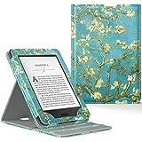 Capa Kindle Paperwhite WB® Premium Vertical Auto Hibernação Flores