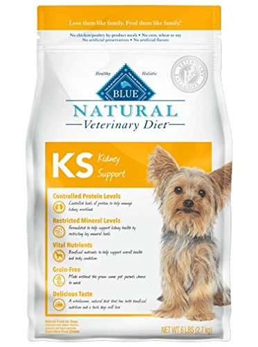 Blue Natural Veterinary Diet KS Kidney Support Dry Dog Food