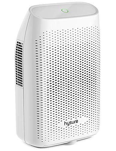 Hysure Quiet and Portable Dehumidifier Electric, Deshumidificador, Home Dehumidifier for Bathroom, Crawl Space, Bedroom, RV, Baby Room (2000ml) ...