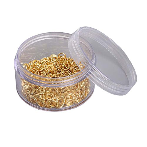 Iron Rings Accessories DIY Earrings Handmade Material Golden£¨800 Pcs £