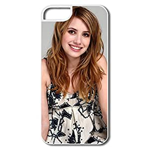 Design Customize Hard Back Cover Nice IPhone 5 5s Cases - Emma Roberts Latest
