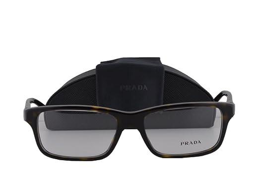 8b45e2de3f1 Prada PR06SV Eyeglasses 54-16-140 Havana w Demo Clear Lens 2AU1O1 VPR06S