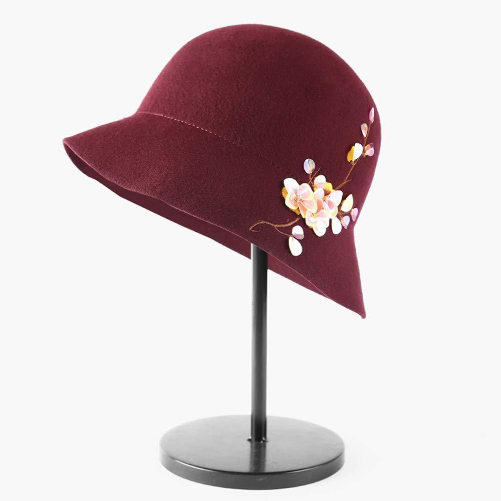Silenziatore ZR Cappello Britannico Cappello Invernale A E Forma Cappello  Feltro E A Berretto da Pescatore -Calore all aperto Invernale (Coloreee Nero)  Nero ... 40e5c65e9361