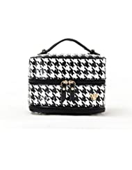 PurseN Prima Jewelry Case (Large, Patent Houndstooth)