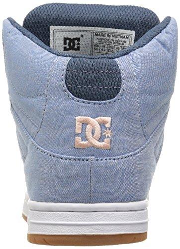 DC Junge Frauen Rebound Hohe Tx Se Hallo Top Schuhe, EUR: 36.5, Navy/Gum